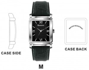 GP001 Alloy Case with PU Strap, Japan Quartz Movement.