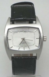 GP005 Alloy Case with PU Leather Strap, Japan Quartz Movement.