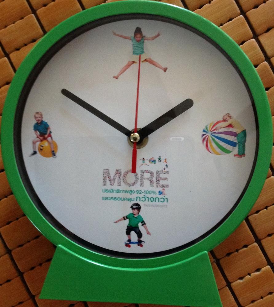 นาฬิกาแขวนผนัง ขนาด 6 นิ้ว GP 612 (ตั้งโต๊ะได้หรือ แขวนได้)