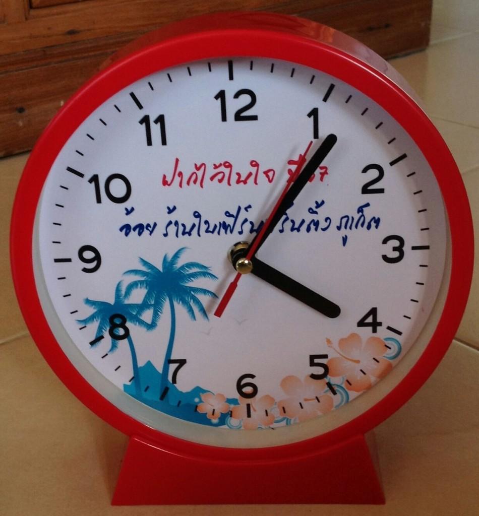 ผลิตนาฬิกา รุ่น GP 612 ขนาด 6 นิ้ว